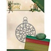 Dies - Amy Design - Christmas in Gold - Christmas Bauble Hobbydots