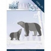 Dies - Amy Design - Winter Friends - Polar Bears (ADD10195)