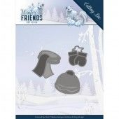 Dies - Amy Design - Winter Friends - Warm Winter Clothes (ADD10196)