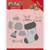Dies - Amy Design - Christmas Pets - Christmas Cat (ADD10214)