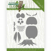 Dies - Amy Design - Amazing Owls - Build up Owl (ADD10216)