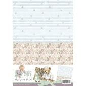 Paperpack background sheets 2 - Baby Collection - Amy Design
