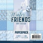 Paperpack - Amy Design - Winter Friends (ADPP10030)