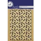 Clearstamp - Aurelie - Dog Bones Background (AUCS1009)