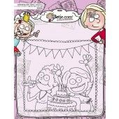 Clearstamp - Aurelie - Betje Birthday Cardmaking (AUCS1012)