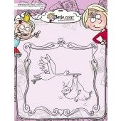 Clearstamp - Aurelie - Betje Birth Cardmaking (AUCS1016)