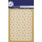 Aurelie Flock Of Birds Background Embossing Folder (AUEF1018)