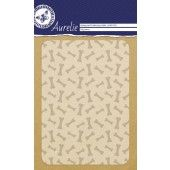 Aurelie Dog Bones Background Embossing Folder (AUEF1020)