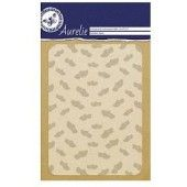 Aurelie Wooden Shoes Background Embossing Folder (AUEF1022) (AFGEPRIJSD)