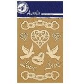 Aurelie Wedding - Vintage - Edged Ornaments (AUVE1008)