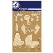 Aurelie New Born - Vintage - Edged Ornaments (AUVE1009)