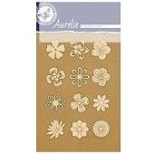 Aurelie Flowers - Vintage - Edged Ornaments (AUVE1013)