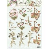 3D Knipvel - Studio Light - Birds 8
