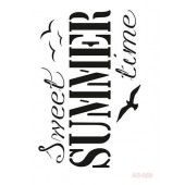 Cadence Mask Stencil AS - sweet summer time 03 014 0599 21X29cm (184014/0599)*