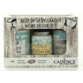 Cadence Very Chalky Home Decor set Antiek wit - Frans linnen 01 002 0002 909050 90+90+50 ml (301260/1002)