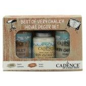 Cadence Very Chalky Home Decor set Kasjmier - Veneto 01 002 0009 909050 90+90+50 ml (301260/1009) CH33