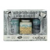 Cadence Very Chalky Home Decor set Leigrijs - donkergrijs 01 002 0008 909050 90+90+50 ml (301260/1008) CH19