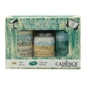 Cadence Very Chalky Home Decor set Old lace - Palm Royal 01 002 0005 909050 90+90+50 ml (301260/1005) CH06
