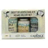 Cadence Very Chalky Home Decor set Taffy - October Mist 01 002 0003 909050 90+90+50 ml (301260/1003) CH05
