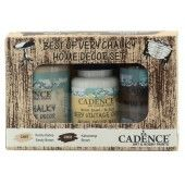 Cadence Very Chalky Home Decor set Zandbruin - bruin 01 002 0004 909050 90+90+50 ml (301260/1004) CH07
