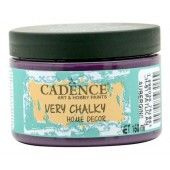 Cadence Very Chalky Home Decor (ultra mat) Aubergine 01 002 0051 0150 150 ml (301260/0051)