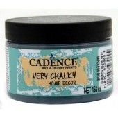 Cadence Very Chalky Home Decor (ultra mat) Napoleon blauw 01 002 0048 0150 150 ml (301260/0048)