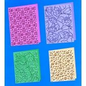 Cuttlebug Embossing Folder: Summer Set