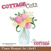 Cottage Cutz -Flower Bouquet Jar - CC4x4-586