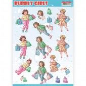 3D Knipvel - Yvonne Creations - Bubbly Girls - Shopping