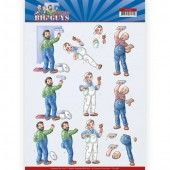 3D Knipvel - Yvonne Creations - Big Guys - Workers - Handyman