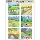 Die Cut Topper - Scenery Jeanines Art - Spring Landscapes 2