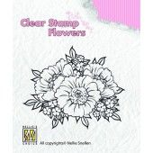 Clearstamp - Flowers - Anemones