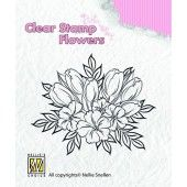 Clearstamp - Flowers - Crocuses