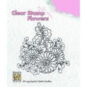 Clearstamp - Flowers - Gerberas