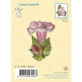 Clearstamp - Flower 2 - Leane Creatief