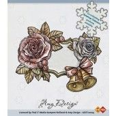 Clearstamp - Amy Design - Roses and Bells