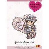 Clearstamp - Yvonne Creations - Love - Girl