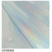 Couture Creations Heat Activated Foil Silver Iridescent Digital Finish (CO725353)
