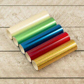 5 Heat Activated foil rolls (CO726312)