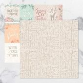 My Secret Love Double Sided Patterned Papers 12 (CO727600)