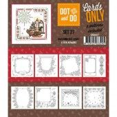 Hobbydots dot & do - Cards only set 27
