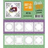 Hobbydots dot & do - Cards Only set 33