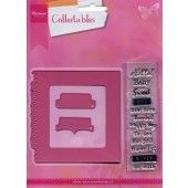 Marianne Design - Collectables - Tab met tekst UK (COL1315)*
