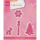 Marianne Design -  Collectables - Christmas village decoration set (COL1330)*
