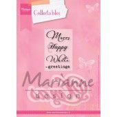 Marianne Design - Collectables - Eline's Xmas (UK) (COL1339) (25% KORTING)*