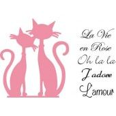 Marianne Design -  Collectables - French cats  (COL1344)