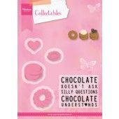 Marianne Design - Collectables - Chocolate is the answer (COL1366) (25% KORTING)*
