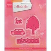 Marianne Design -  Collectables - Village decoration set  (COL1383) (25% KORTING)