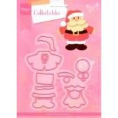 Marianne Design -  Collectables - Eline`s Kerstman  (COL1391) (25% KORTING)