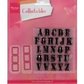 Marianne Design - Collectables - Stempel alfabet (COL1396)*
